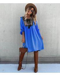 Šaty - kód 958 - modrá