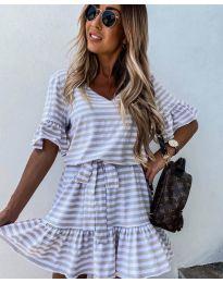 Šaty - kód 444 - biela