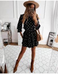 Šaty - kód 3665 - čierná