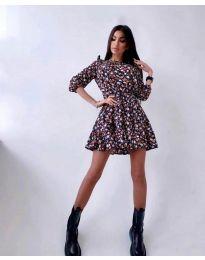 Šaty - kód 5910 - 4 - viacfarebné