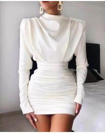 Šaty - kód 8257 - biela