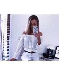 Košeľa - kód 7126 - biela
