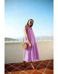 Šaty - kód 8810 - fialová