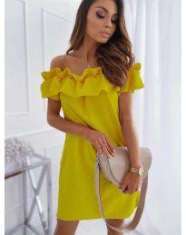 Šaty - kód 133 - žltá