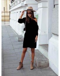 Šaty - kód 8171 - čierná