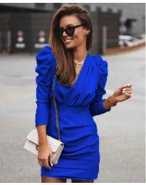Šaty - kód 870 - modrá