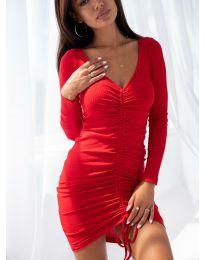 Šaty - kód 12069 - červená