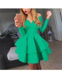 Šaty - kód 228 - zelená