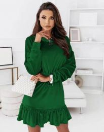 Šaty - kód 0424 - zelená