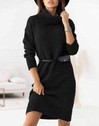 Šaty - kód 0393 - čierná