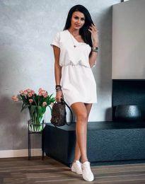 Šaty - kód 3214 - biela