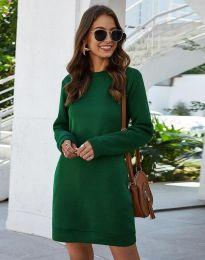 Šaty - kód 3843 - zelená