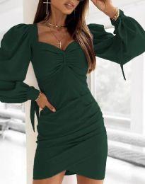 Šaty - kód 0363 - zelená