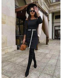 Šaty - kód 5190 - čierná