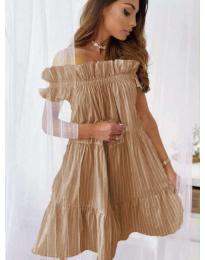 Šaty - kód 0299 - hnedá