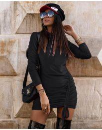 Šaty - kód 9545 - čierná