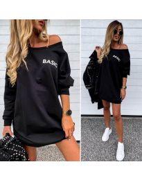 Šaty - kód 322 - čierná