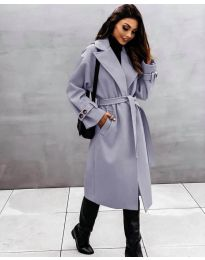 Kabát - kód 410 - šedá