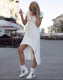 Šaty - kód 5507 - biela