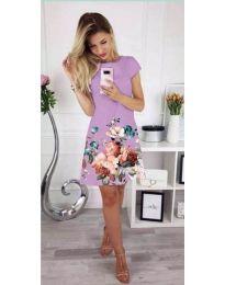 Šaty - kód 026 - fialová
