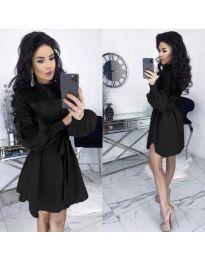 Šaty - kód 6364 - čierná