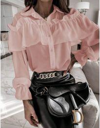Košeľa - kód 2433 - ružová