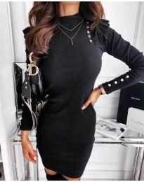 Šaty - kód 8484 - čierná