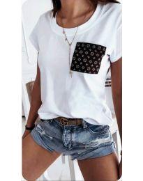 Tričko - kód 256 - biela
