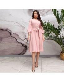 Šaty - kód 4571 - ružová