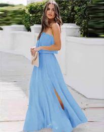 Šaty - kód 8871 - svetlo modrá