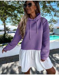 Šaty - kód 6947 - fialová