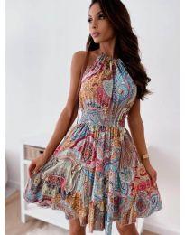 Šaty - kód 3858 - viacfarebné