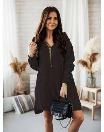Šaty - kód 6113 - čierná