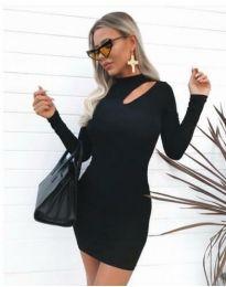 Šaty - kód 11411 - 1 - čierná