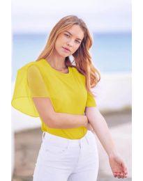 Tričko - kód 527 - žltá