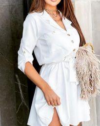 Šaty - kód 4950 - biela