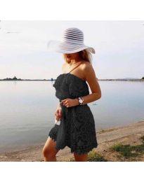 Šaty - kód 4849 - čierná
