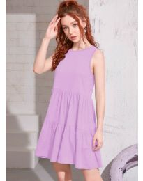 Šaty - kód 4471 - světle fialová
