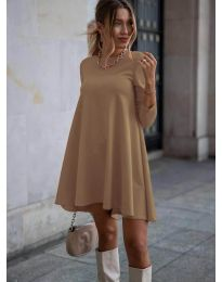 Šaty - kód 371 - cappuccino