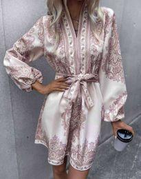 Šaty - kód 4753 - viacfarebné