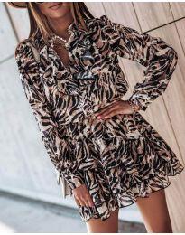 Šaty - kód 6014 - 3 - farebná