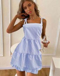 Šaty - kód 0316 - svetlo modrá
