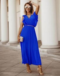 Šaty - kód 3320 - modrý