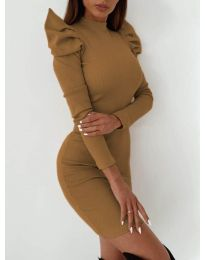 Šaty - kód 9303 - hnedá