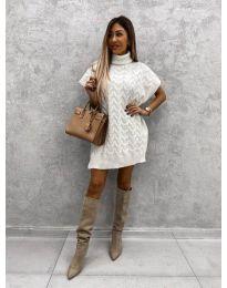 Šaty - kód 0781 - biela