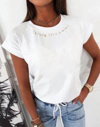 Tričko - kód 12002 - biela