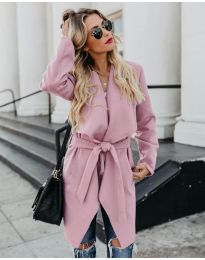 Kabát - kód 814 - ružová
