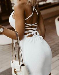 Šaty - kód 7391 - biela
