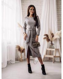 Šaty - kód 9010 - sivá