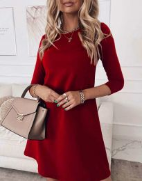 Šaty - kód 8201 - červená